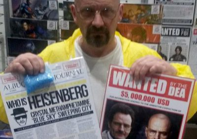 Jamie Pagett as Walter White
